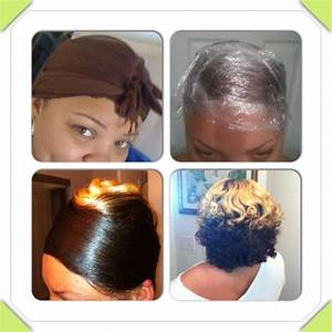 Relaxed Roller Wrap Black Hair