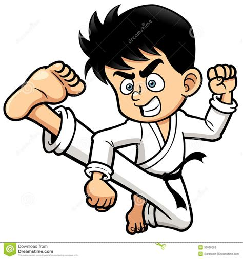 Kick Clipart Karate Kick Clipart Clipart Panda Free Clipart Images