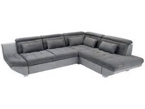 fauteuil d angle conforama canap 233 d angle droit convertible 5 places eternity coloris anthracite gris conforama