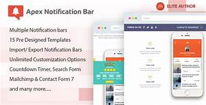 Download Apex Notification Bar V208 Responsive