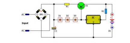 volt car battery charger circuit schematic eeweb