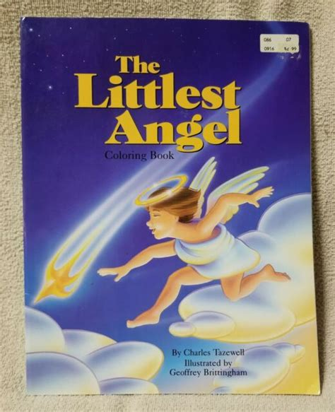 littlest angel coloring book charles tazewell ideals childrens books  ebay