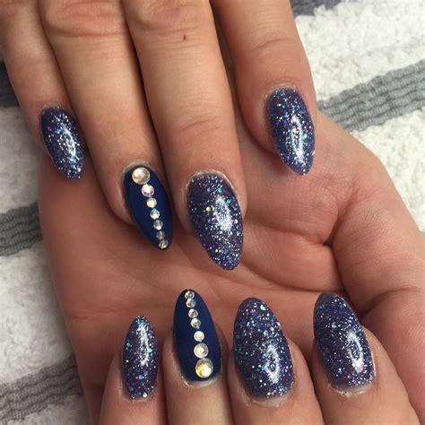 acrylic nail designs 25 glitter acrylic nail designs ideas design
