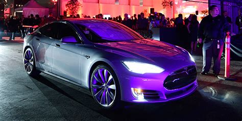 model   teslas  powerful car