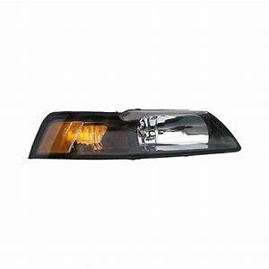 Headlamp For 2001-2004 Ford Mustang; Headlight Assembly Assemblies Headlights - | eBay