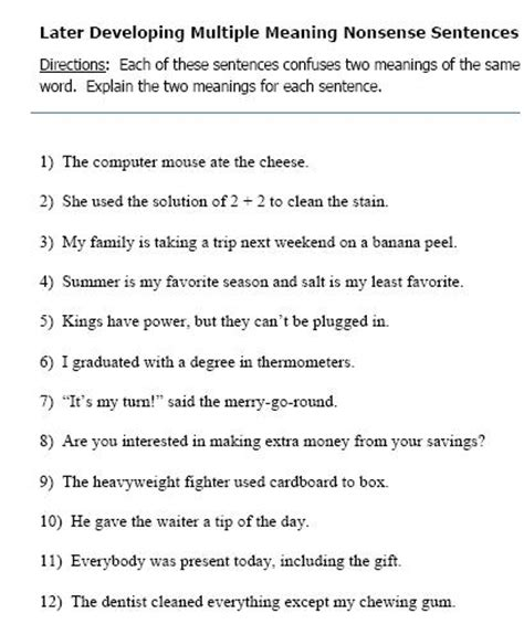 meaning words worksheets 6th grade gialdini