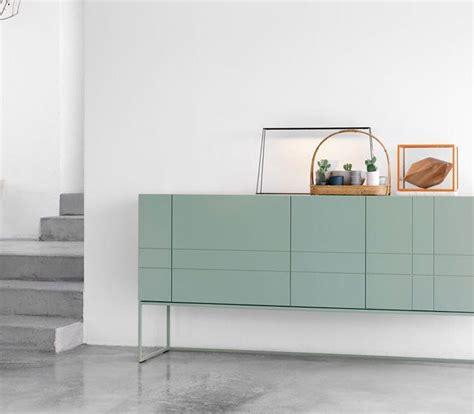 Sideboard Flach Ideen by Minimalistisches Gr 252 Nes Sideboard Auch F 252 R Kleine R 228 Ume