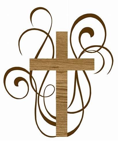 Catholic Clipart Baptism Cross Cake