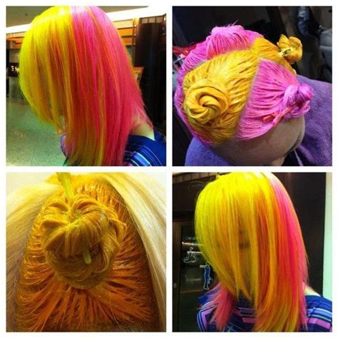 Different Colors Hair by Best 25 Yellow Hair Dye Ideas On Yellow Hair