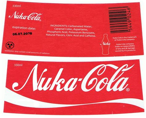 Nuka Cola Quantum Label by Nuka Cola Label By Nig 1988 On Deviantart