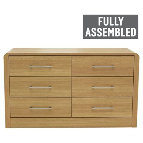 buy heart  house elford  drawer chest oak effect
