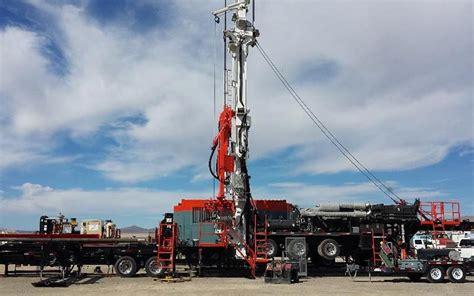 schramm txd portable top head drilling rig hydro