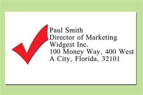 een adres op een envelop schrijven wikihow