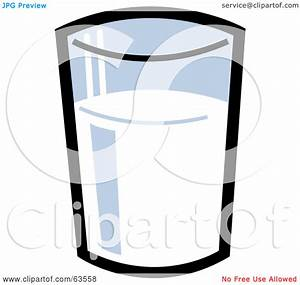 Glass of Milk Clip Art – Cliparts