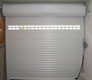 portes de garage en bois sur mesure en pvc ou alu With porte de garage enroulable et porte interieur laque blanc