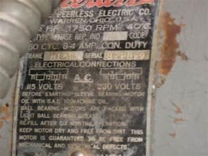 115v  230v Motor Wiring Diagram Question