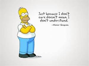 Homer Simpson Funny Quote Pics HD desktop wallpaper ...