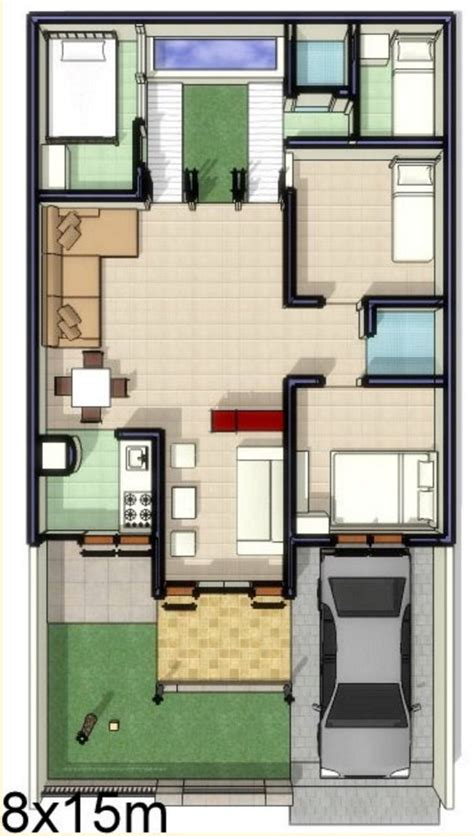 denah rumah  kamar terbaru  denah rumah minimalis