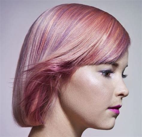 With Pink Highlights Hairstyles by Trendy Hair Color Pretty Pink Hair Looks To Try Styles