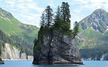 Fjords Kenai National Park Island Rocky Nature