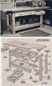 DIY Workbench Plans - Workshop Solutions Projects, Tips
