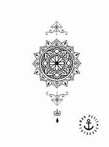 Dessin Fleche Tatouage : petit tatouage mandala temporaire mon petit tatouage temporaire ~ Melissatoandfro.com Idées de Décoration