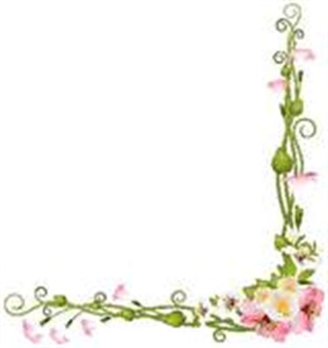 Blumenranke Grün Horizontal by Clipart Of Of The Valley Flowers On Paper Frame