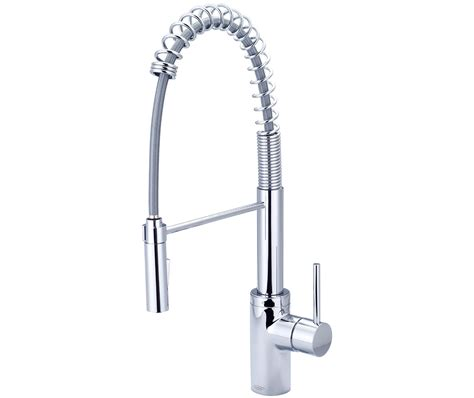 restaurant kitchen pre rinse faucets single handle pull pre rinse kitchen faucet pioneer industries inc
