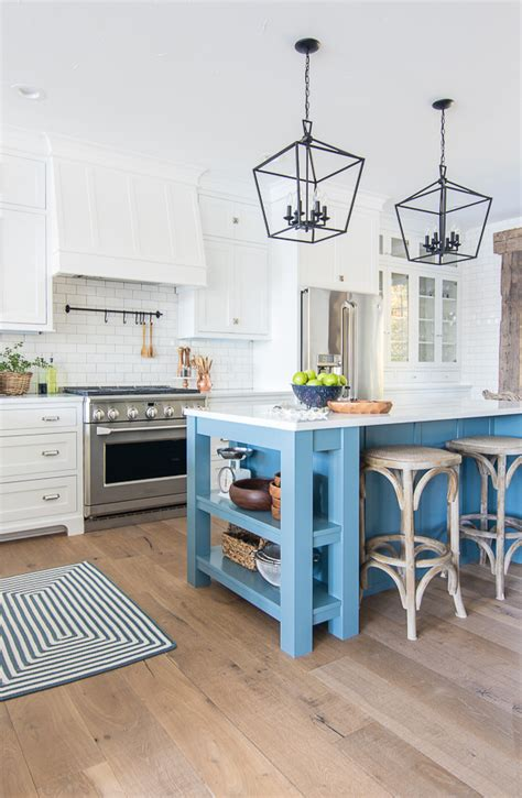 Blue Island Kitchen In White  Unique Blue Tones On Lower. Corner Kitchen Dining Nook Set. Energizing Kitchen Colors. Small Kitchen Hacks Buzzfeed. Kitchen Paint Ideas With Maple Cabinets. Kitchen Signs Office. Kitchen Curtains Navy Blue. Alton Brown Kitchen Knives. Very Narrow Kitchen Shelves