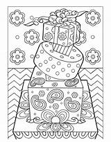 Coloring Dessert Pages Desserts sketch template
