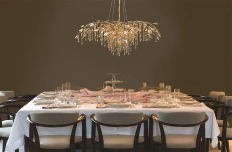 chandeliers transitional dining room