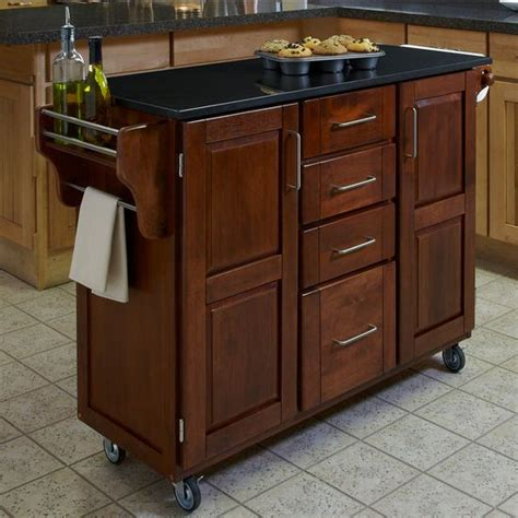 oak kitchen island cart kitchen carts mix and match cottage oak stained 3577