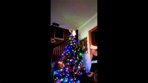 ft  multi function led christmas tree youtube
