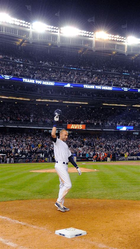 Derek Jeter Walk Off Single New York Yankees Android ...