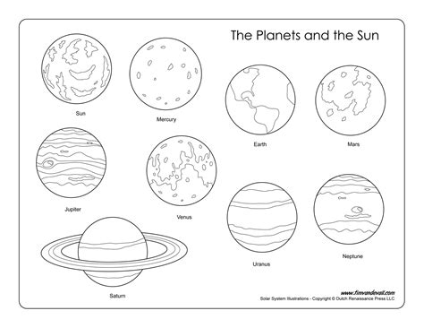 Printable Solar System Cut Outs Page 3 Pics About Space