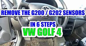 How To Remove    Change The Yaw Rate Sensor G202 And The Lateral Acceleration Sensor G200 In 6
