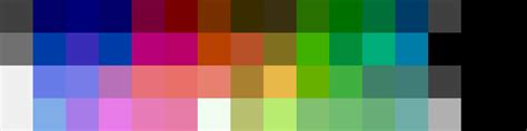 nes color palette rgbsource retron hd nes color palette extracted gawkers