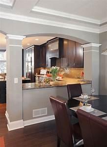 1001 idees cuisine americaine l39ouverture sans le mur With modele amenagement cuisine