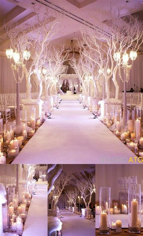 winter wonderland wedding decorations bravobride