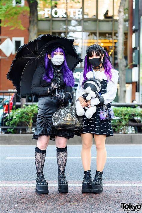 Interesanta un neparasta jauniešu mode Tokijas ielās (31 foto) - Spoki