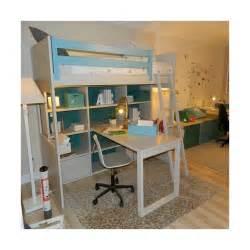 Hauteur Lit Mezzanine : lit mezzanine avec bureau liso loft sign asoral ~ Premium-room.com Idées de Décoration