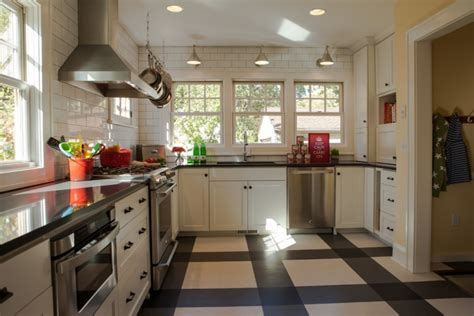 black and white kitchen floor ideas 11 black and white floor designs plans flooring ideas 9276