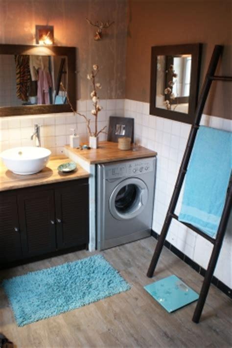vasque bol plomberie dans le plan de travail machine 224 laver deco laundry