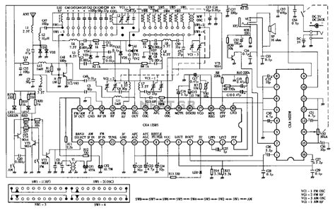simple am radio electronic circuits and diagram