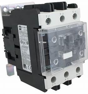 3 Pole Contactor 80 Amp 1 N  O  C 415 Volt Ac Coil