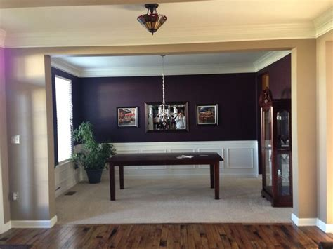 Just Painted My Dining Room Dark Eggplant! 8 Ft Room Divider Bed Sets For Kids Wall Design Ideas Dorm Plan Free Decorating Games Property Brothers Designs Designing A Dining Escape
