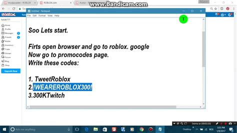 promocodes  robux roblox   youtube