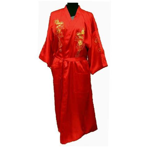 robe de chambre asiatique pyjamas en soie chinois