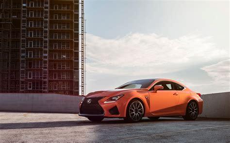 2018 Lexus Rc F Orange Wallpaper Hd Car Wallpapers
