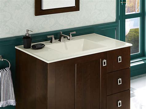 K Ceramic Impressions Inch Oval Vanity Top